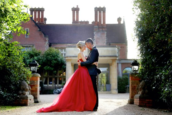 Small intimate wedding at Alexander House hotel