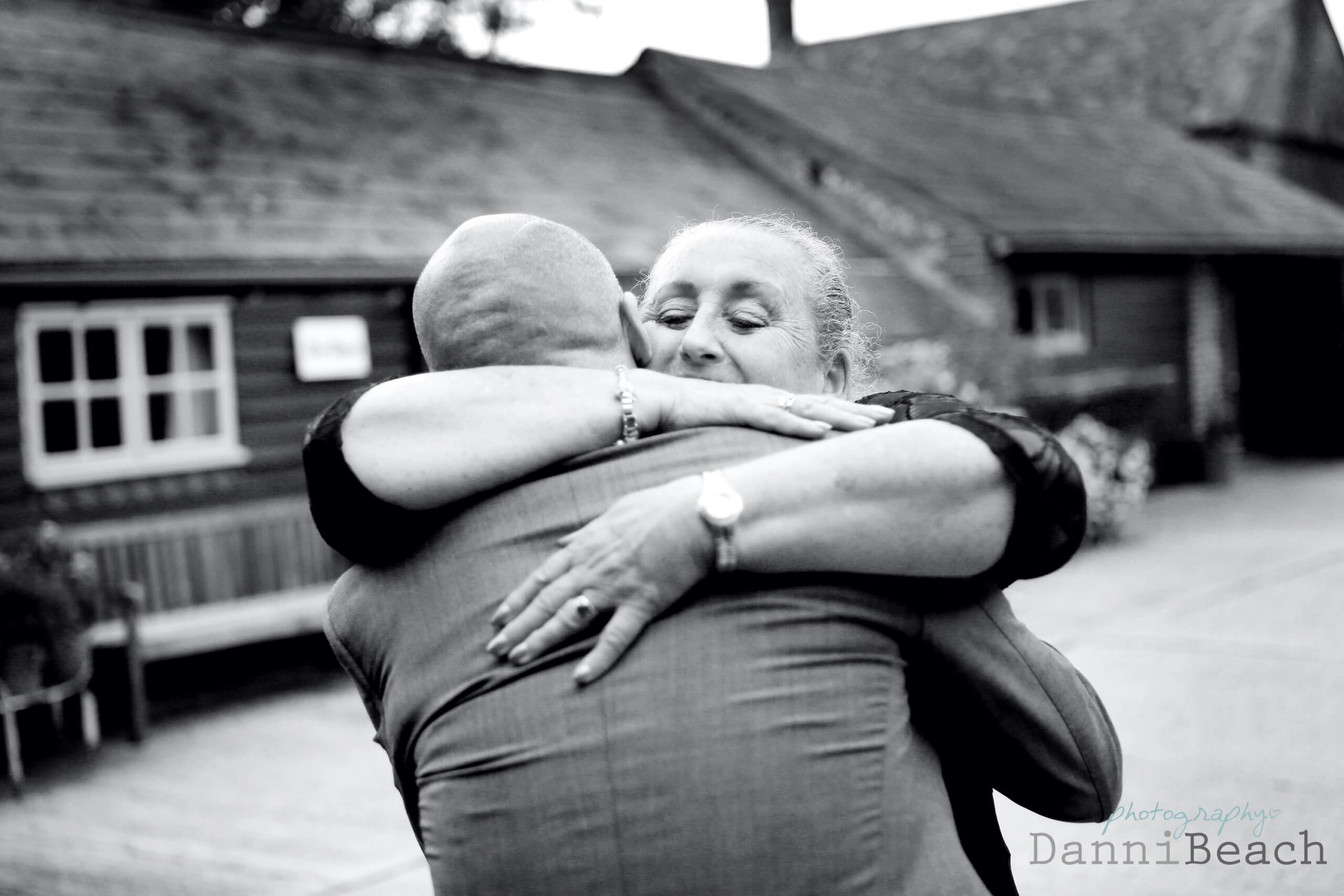 hugs at Upwaltham barns