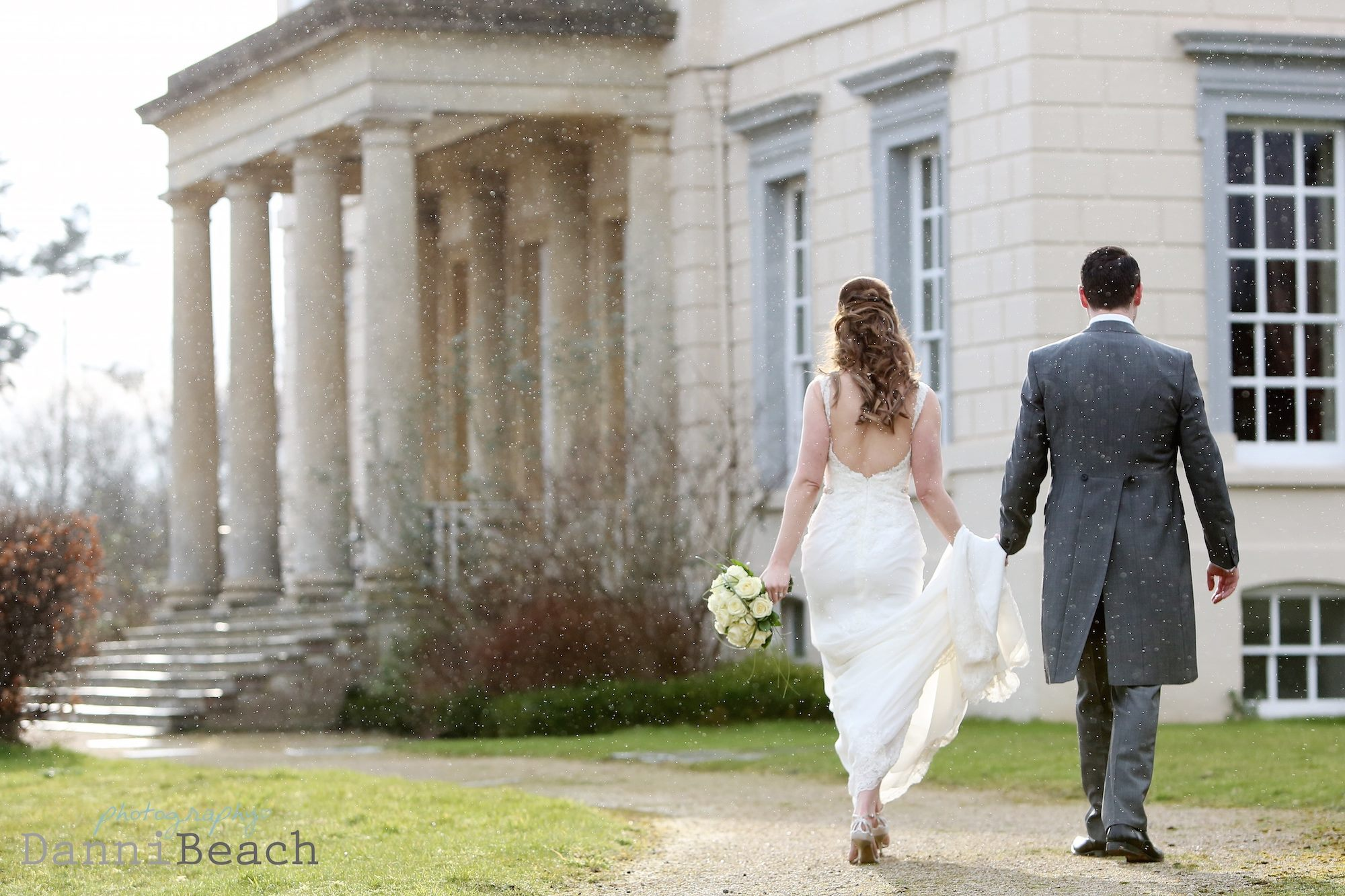 Buxted park winter wedding