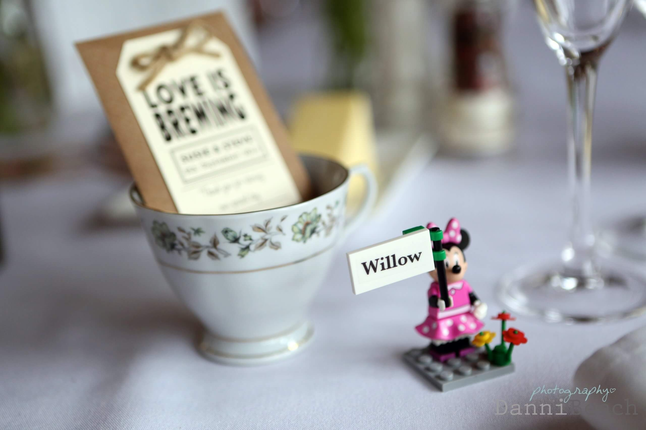 wedding favours at Upwaltham Barns