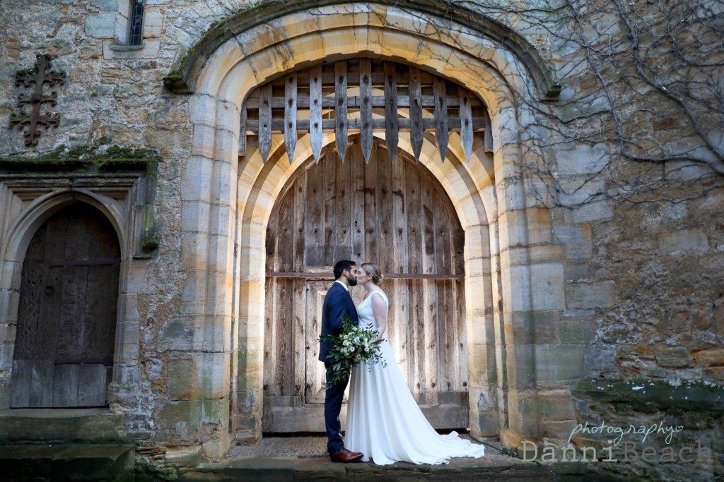 Inner Keep Hever Castle wedding