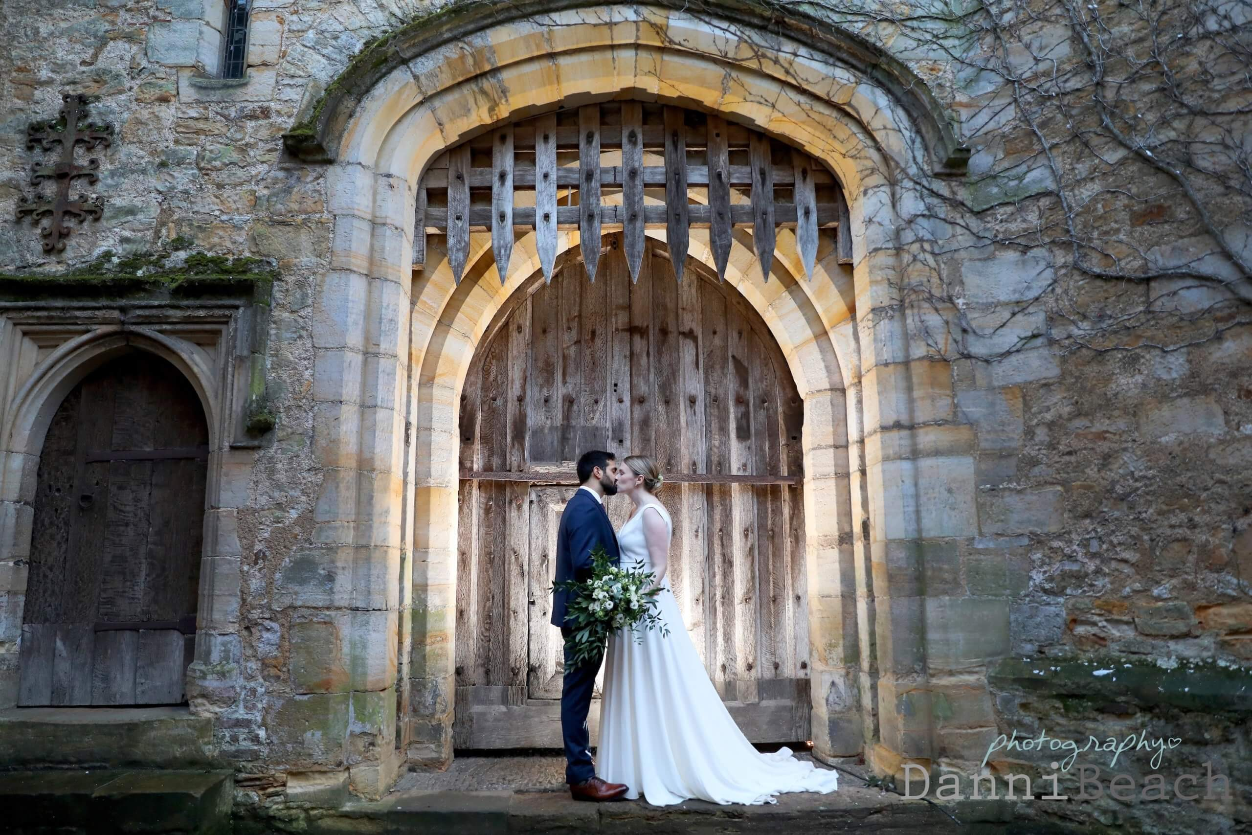Inner Keep Hever Castle wedding