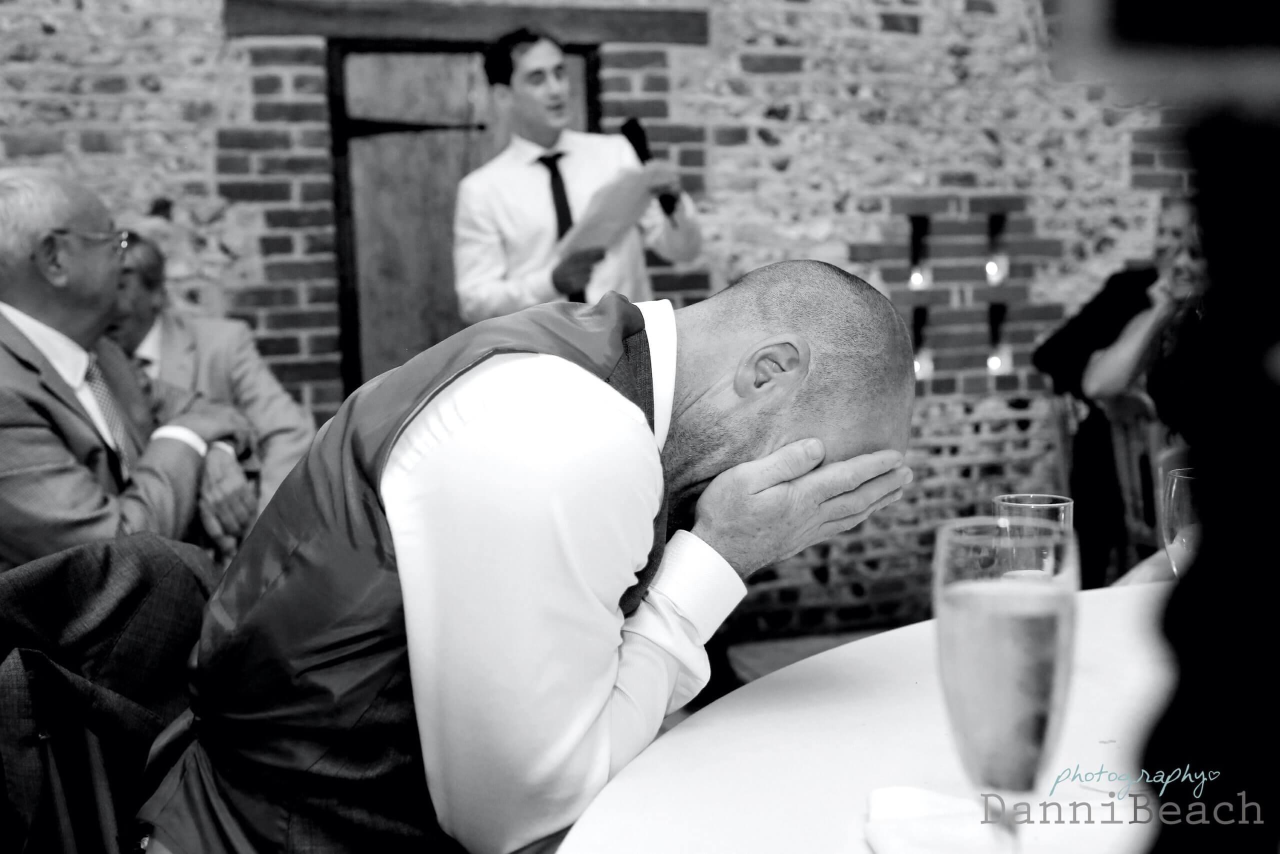 Wedding speeches sussex barn wedding