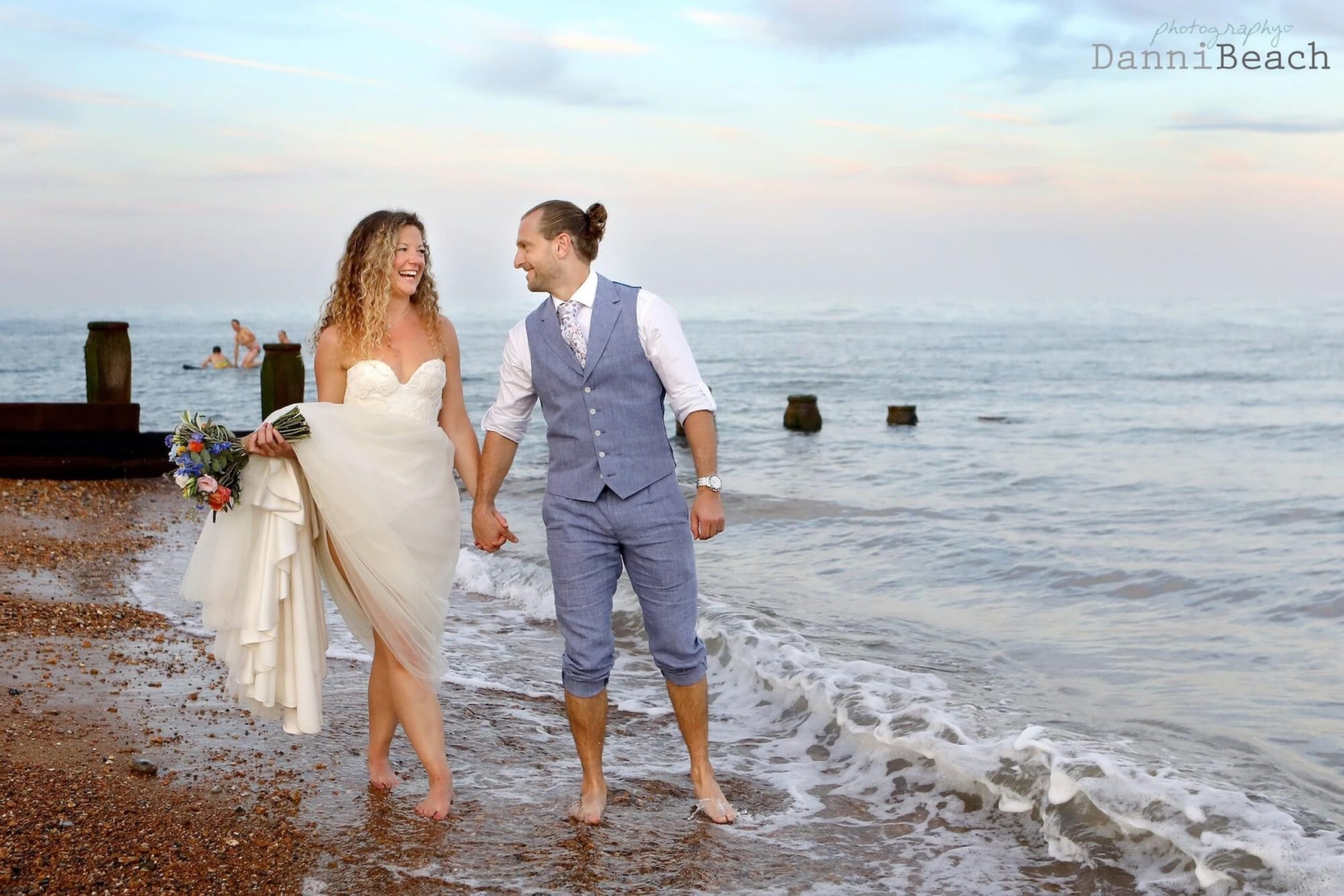 Eastbourne creative wedding photographer