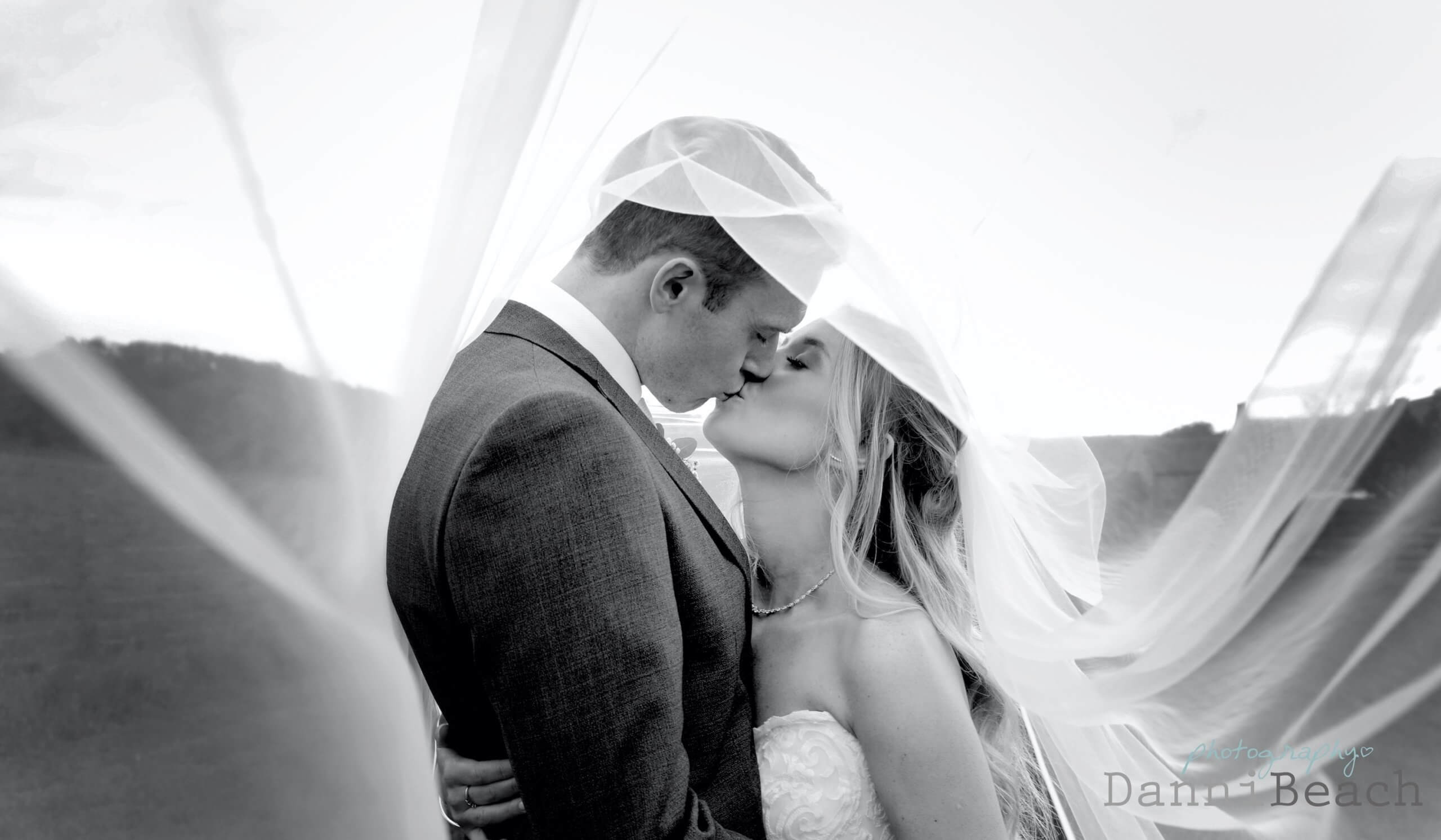 wedding veil sussex wedding photography