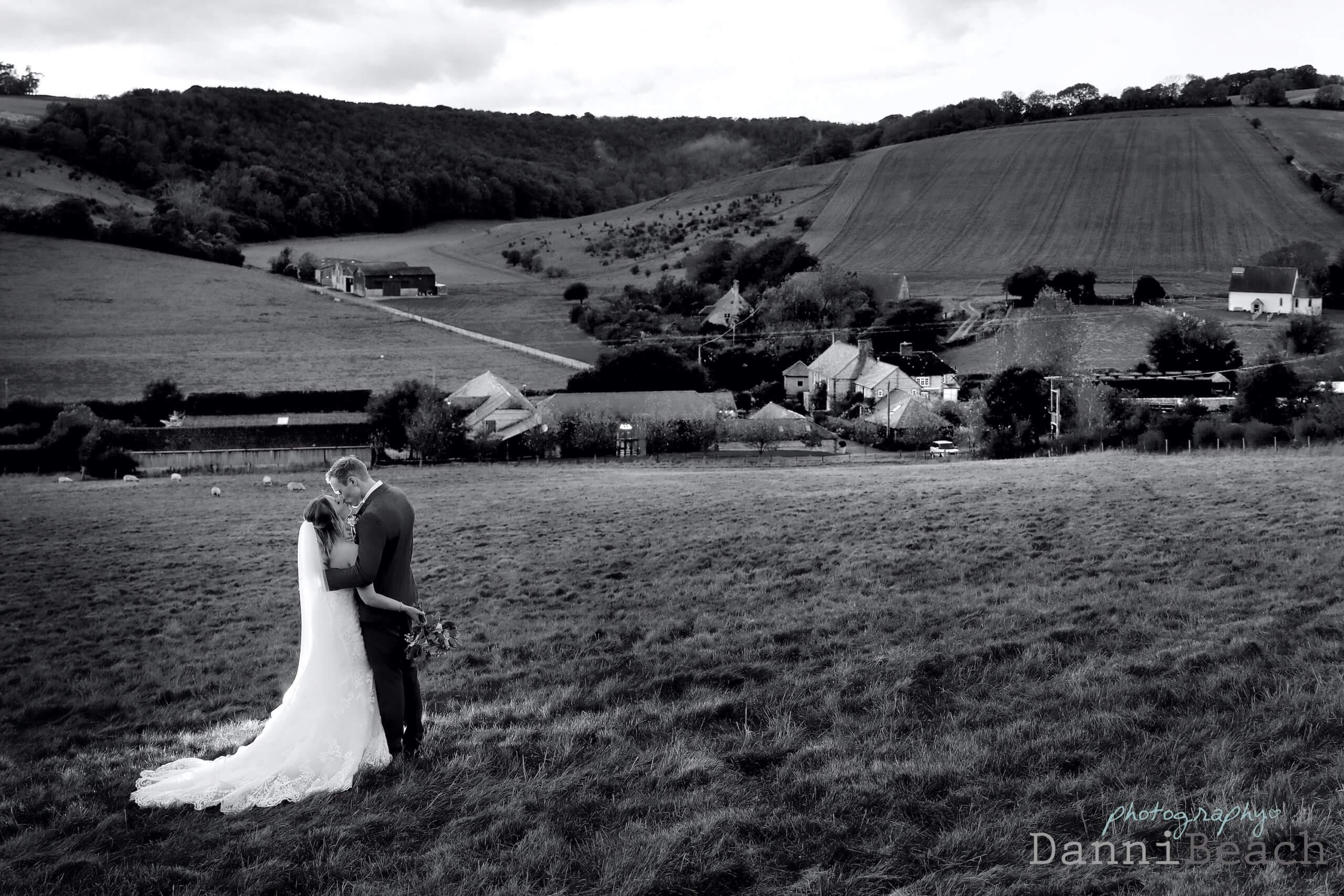 Upwaltham barns wedding photographer