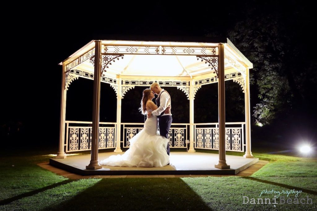 Night shots wedding sussex