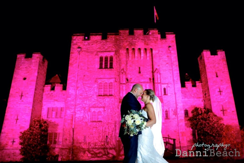Weddng photographer hever castle at Christmas