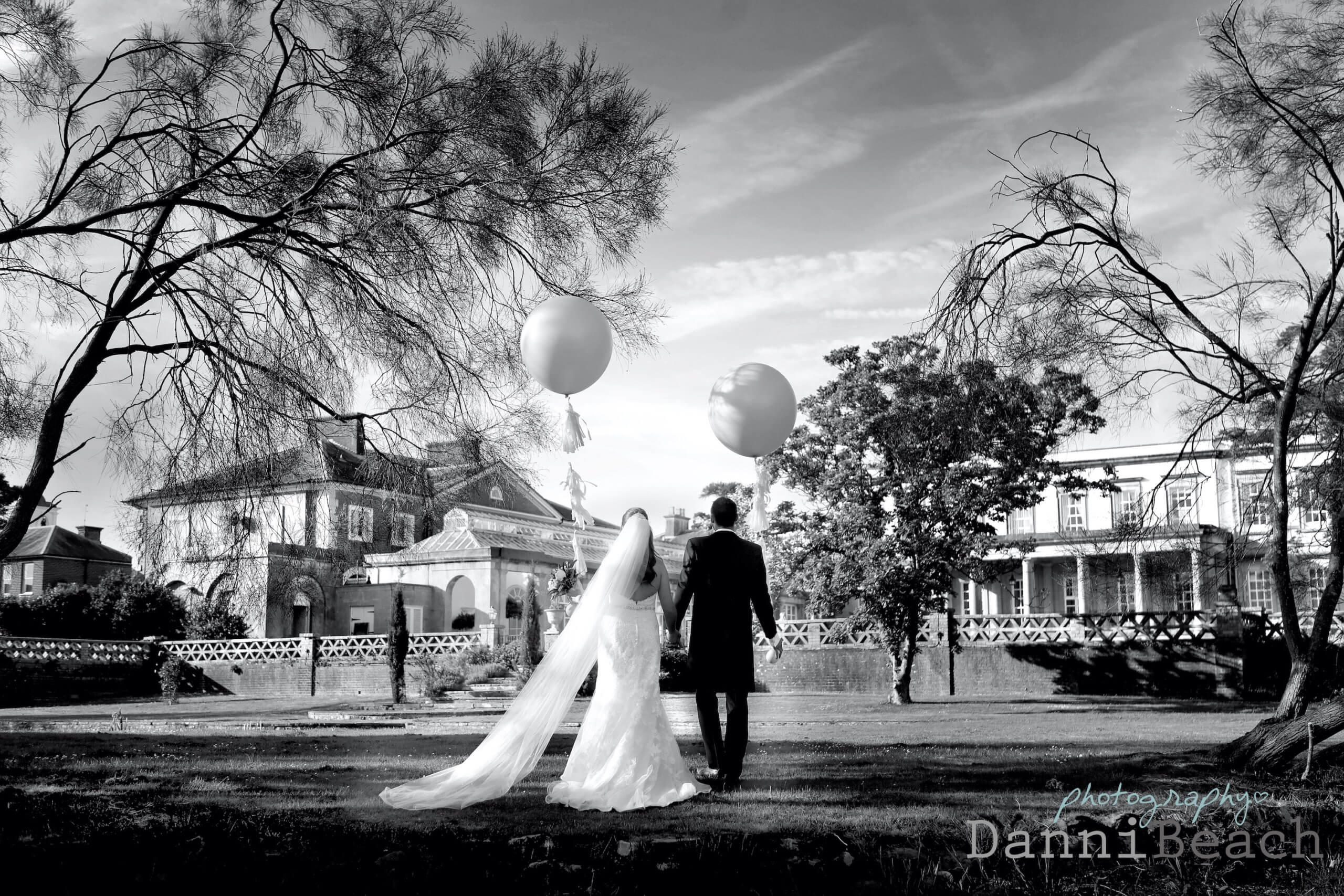 Balloons on your wedding day