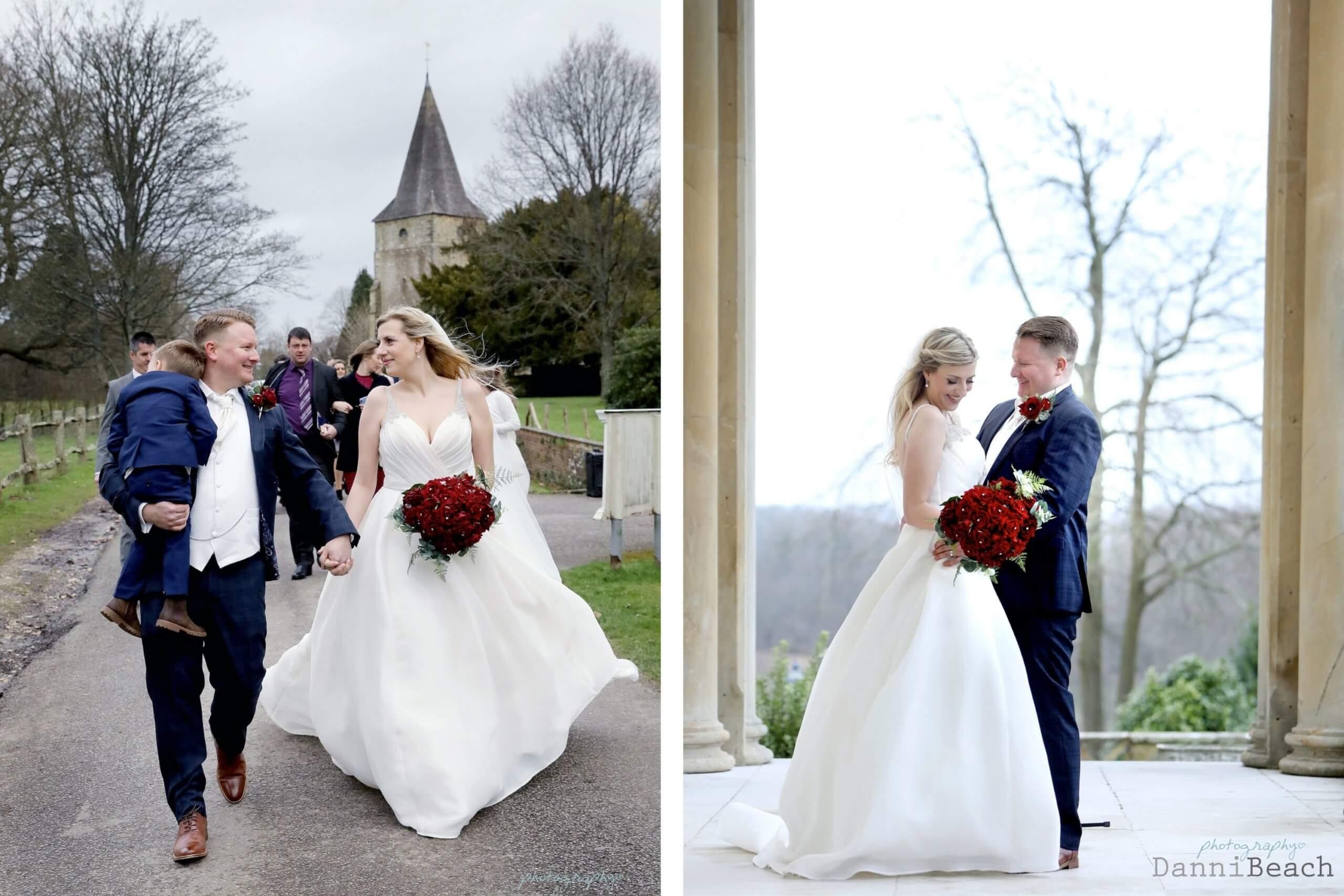 wedding photographer Buxted Park Hotel
