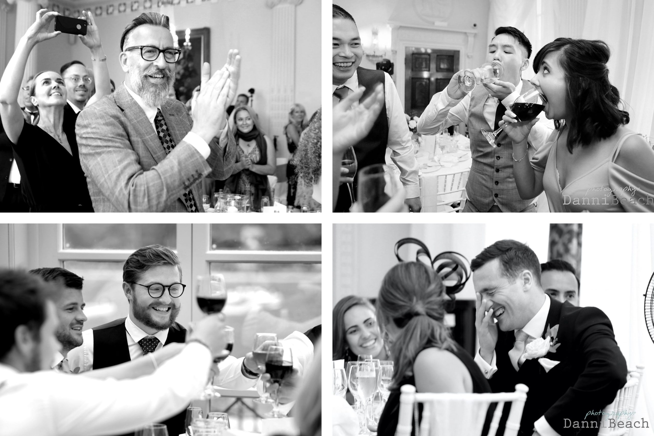 candid Wedding photographer buxted park hotel