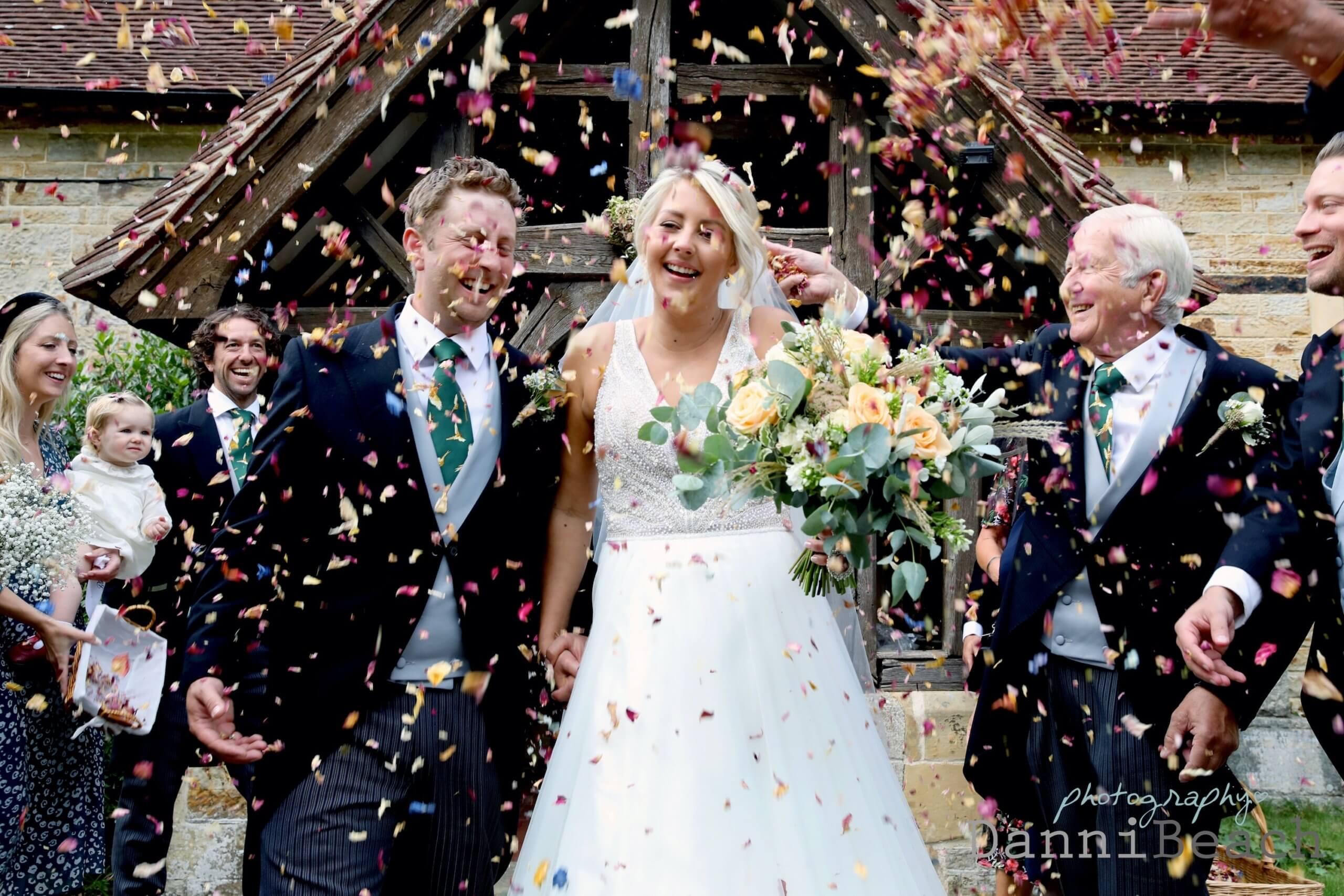 small wedding confetti