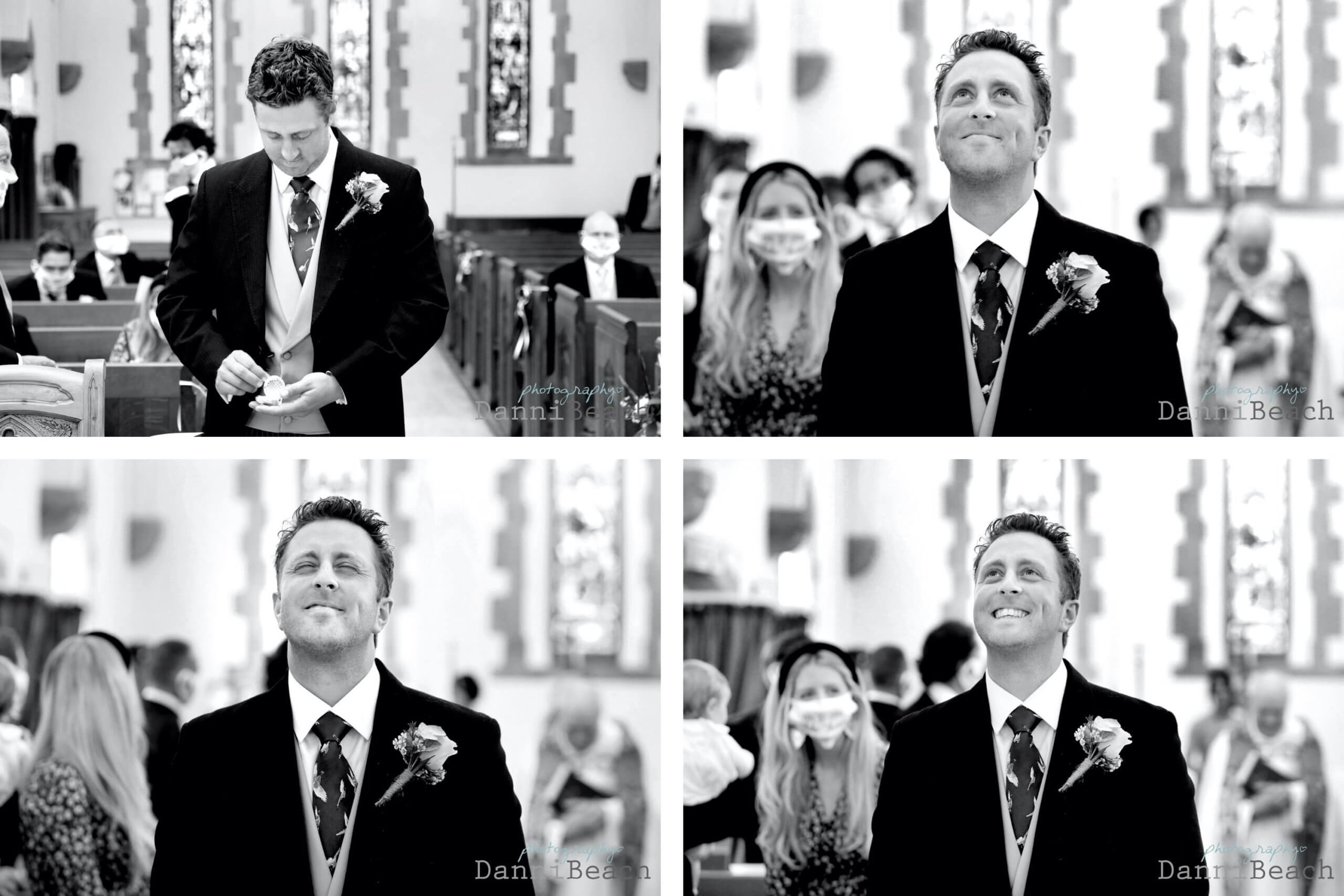 The Grooms expressions natural wedding photographer