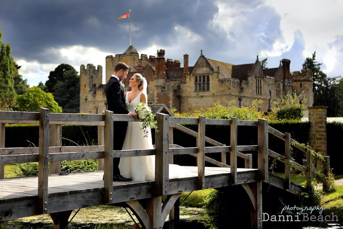 Epic hever castle wedding photographer kent