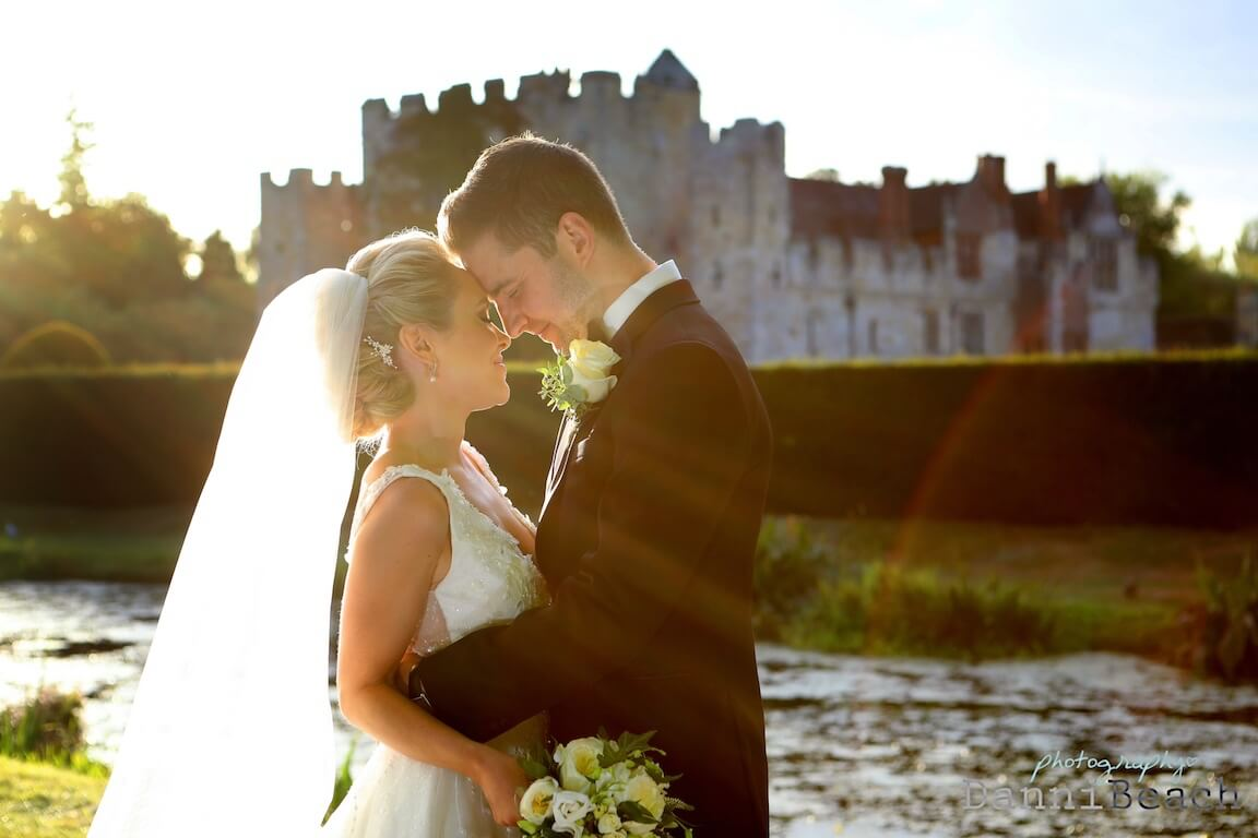 love at hever castle kent wedding