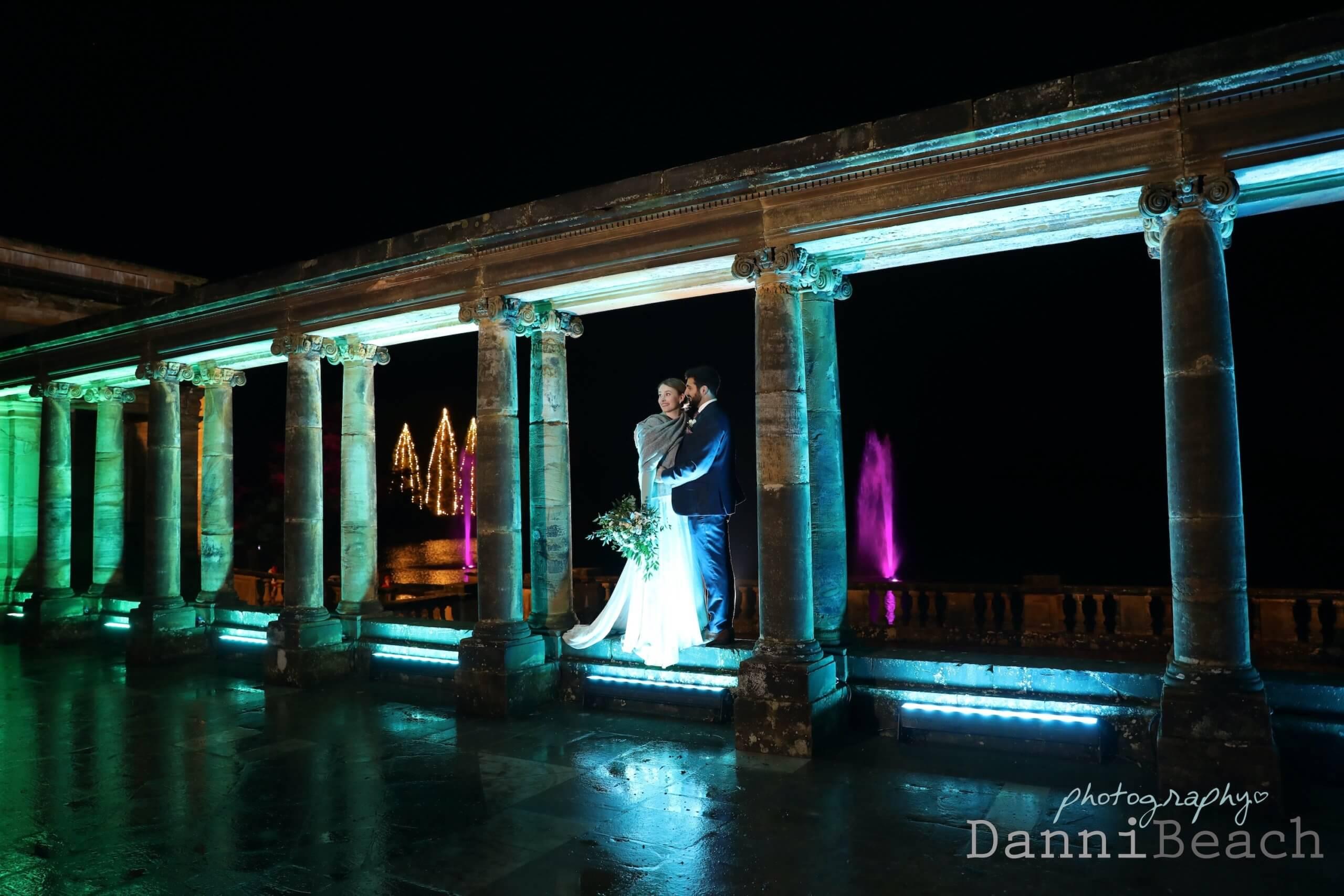 winter wedding at Hever Wedding photography