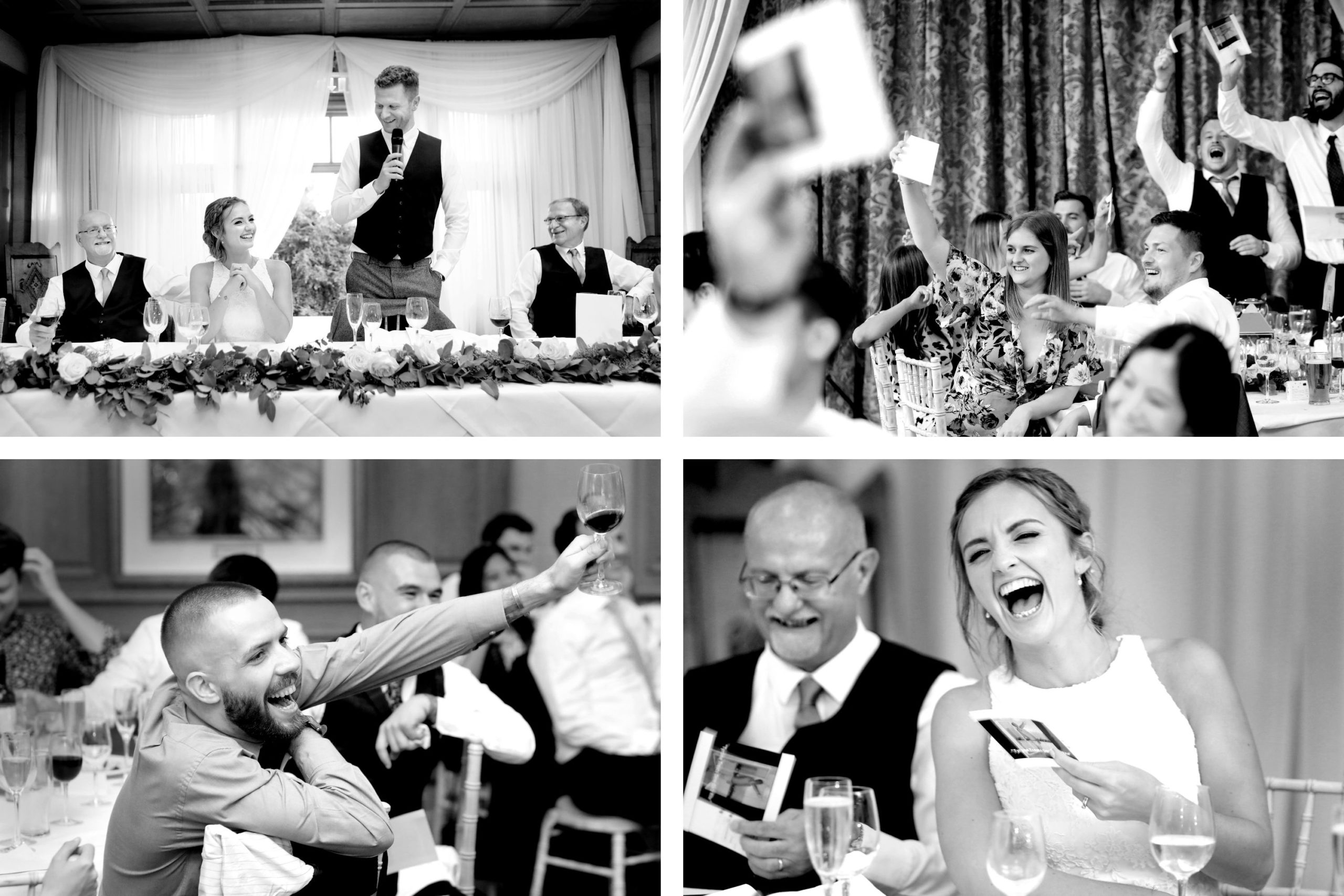 Sussex candid wedding photographer South Lodge Hotel