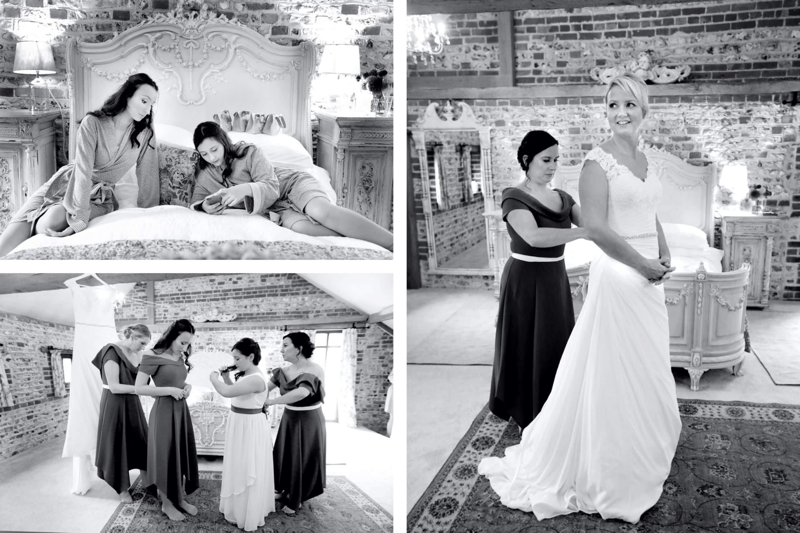 Upwaltham Bride Wedding photographer