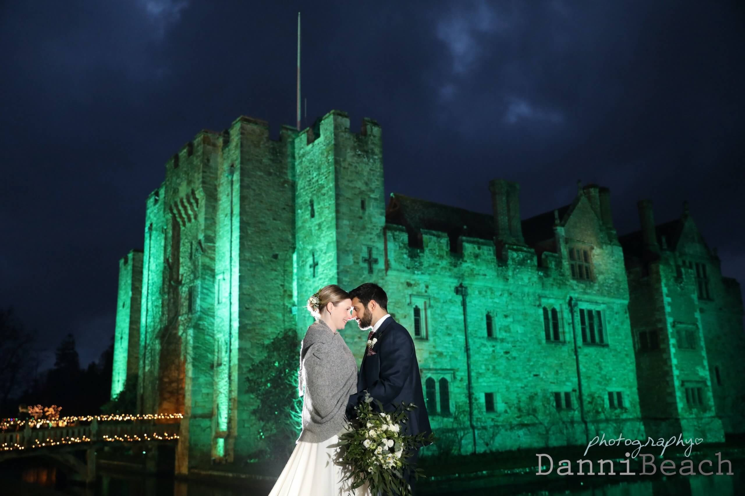 Kent wedding photographer Hever Castle