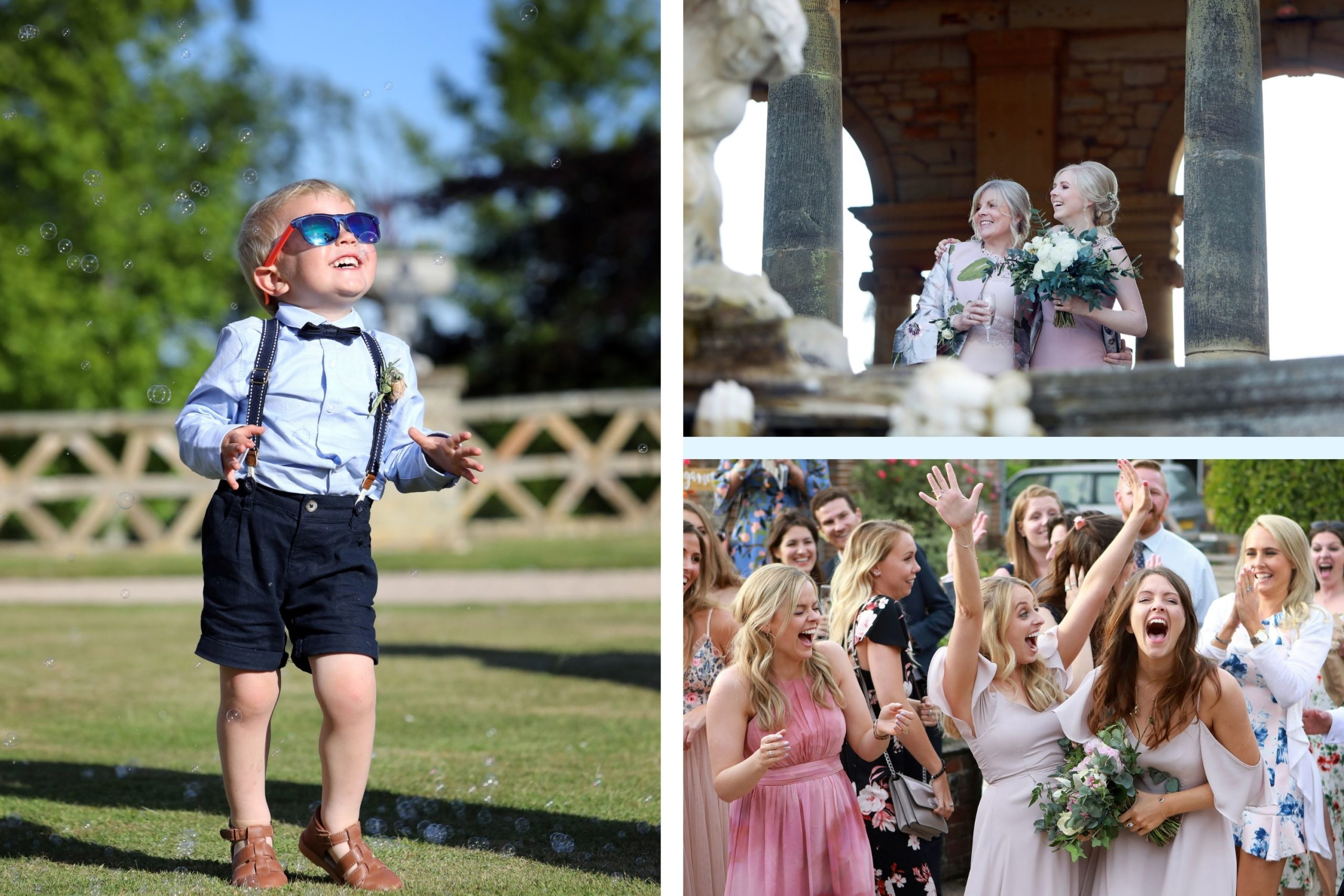 candid wedding photography portraits in colour