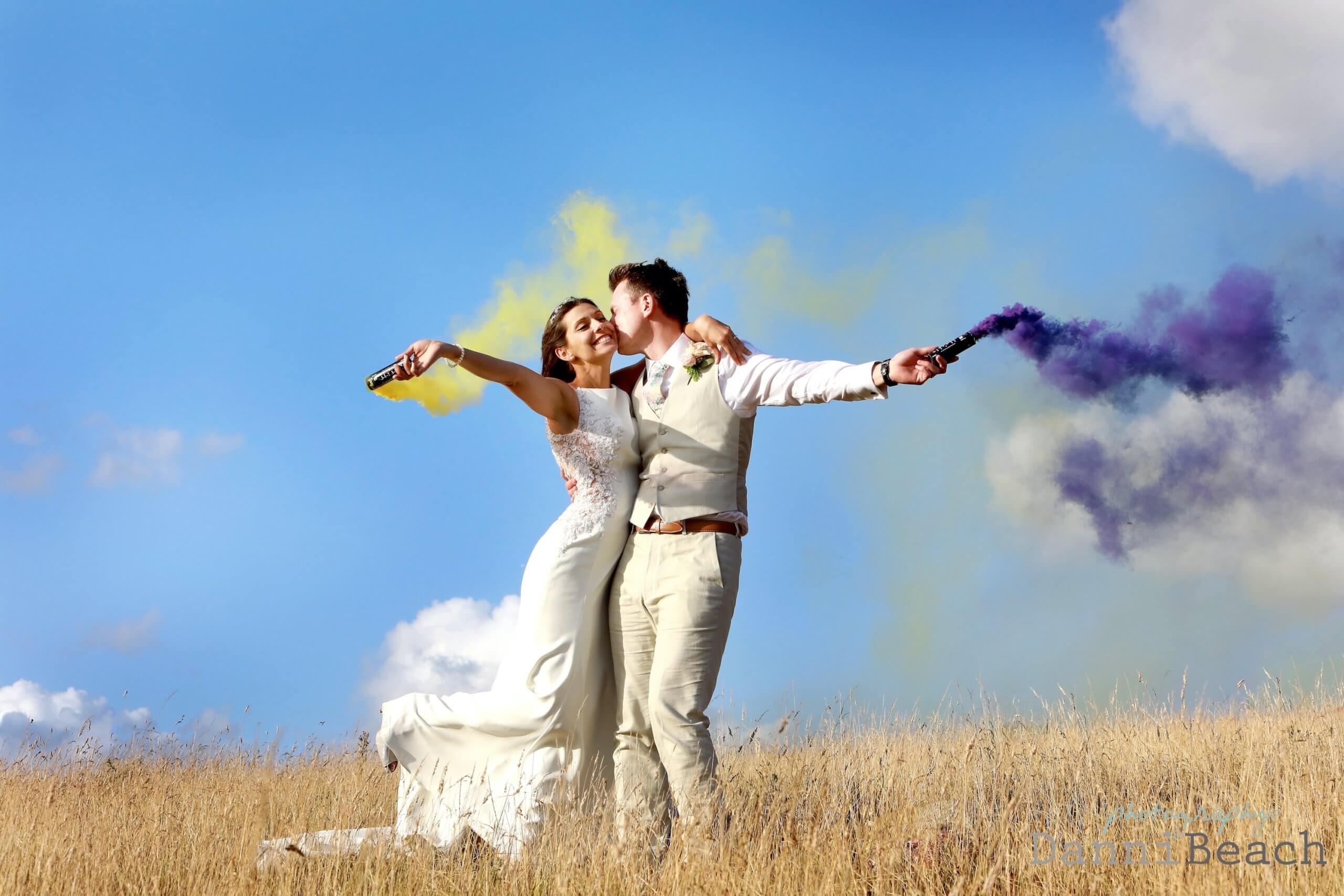Sussex wedding photographer Upwaltham BArns