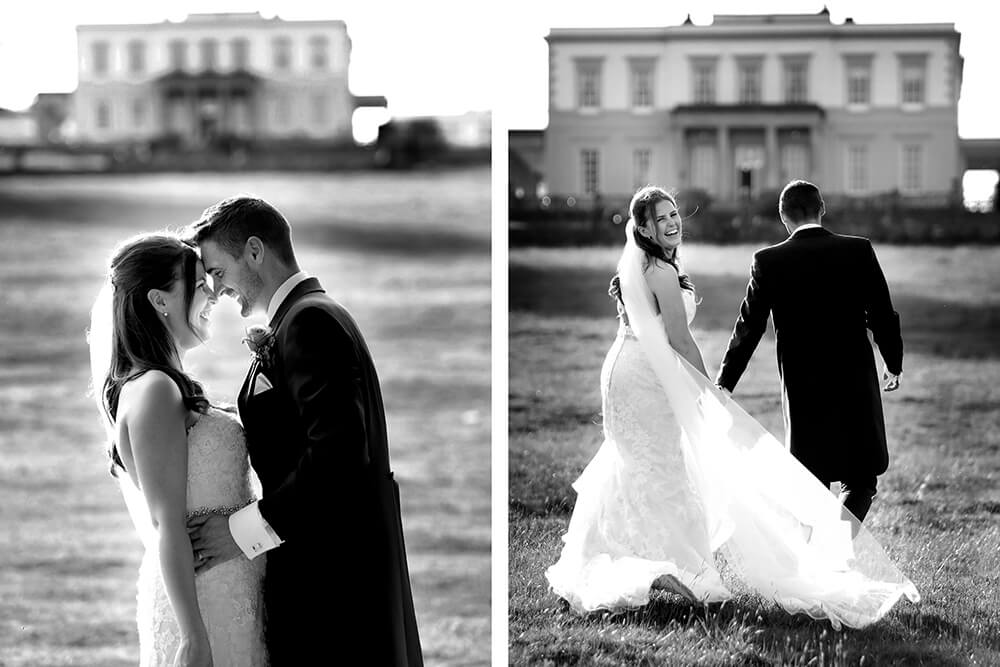candid wedding photography fun at Buxted Park Hotel sussex