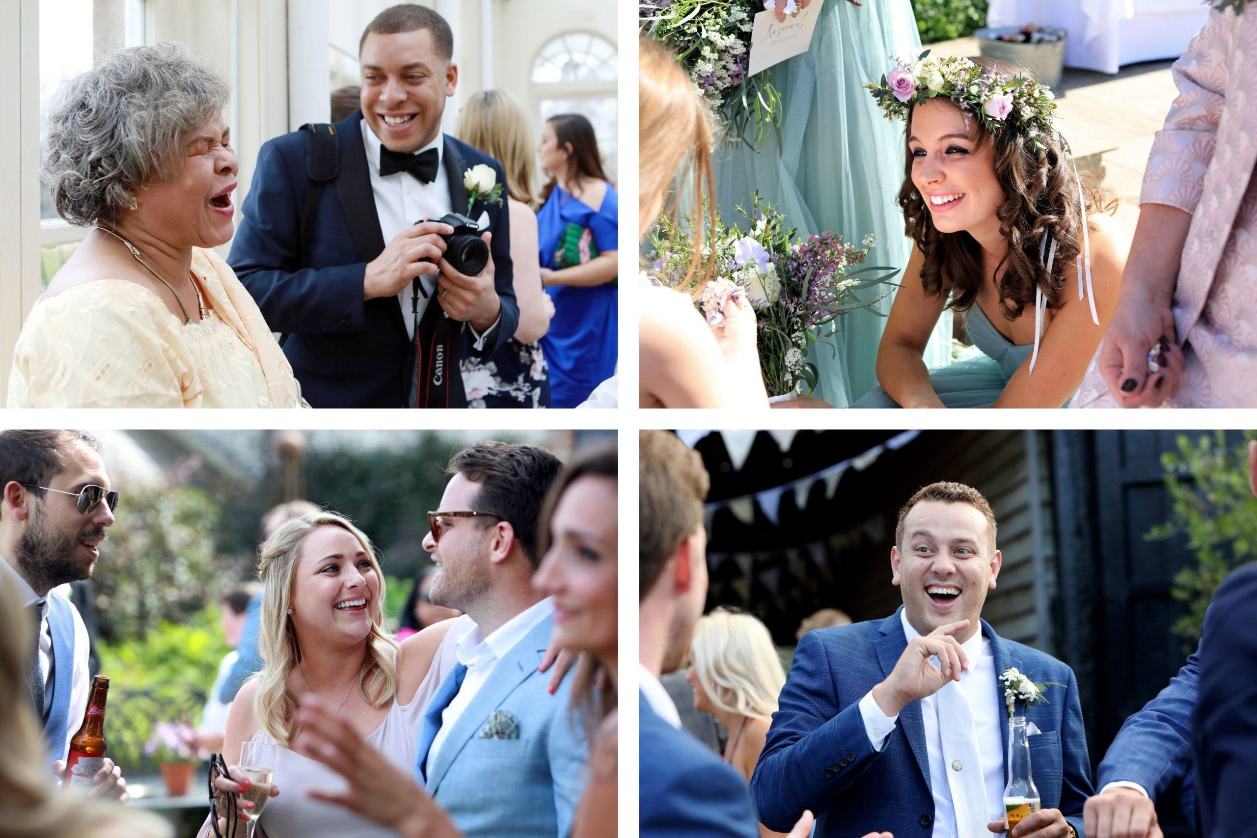 candid wedding photography portraits