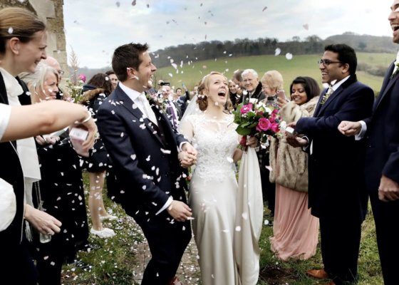 Natural wedding photography sussex