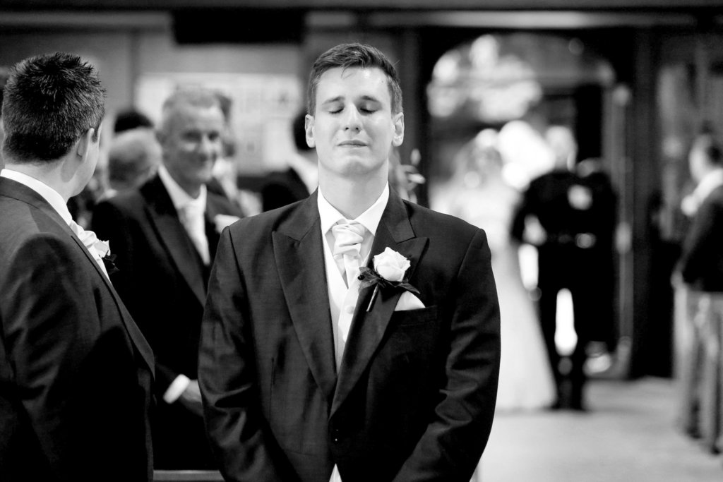 The emotions of a wedding ceremony
