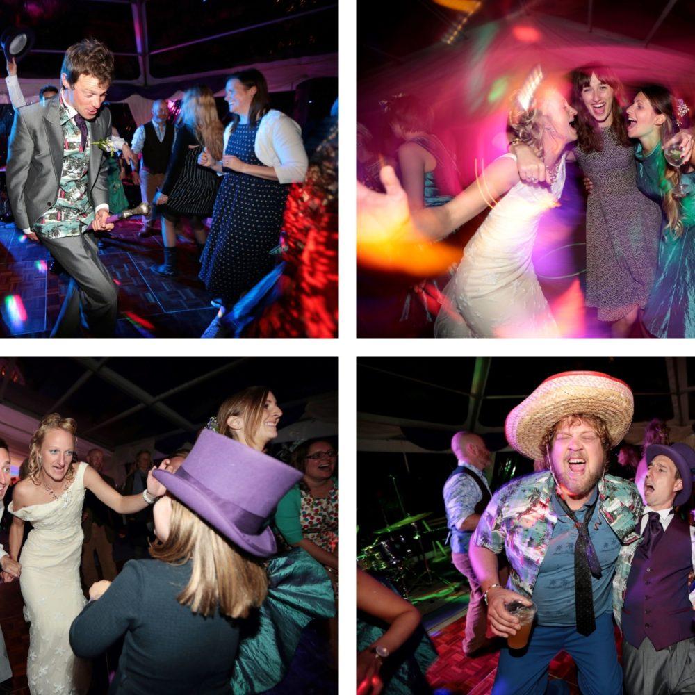 marquee wedding photographer sussex dancing fun