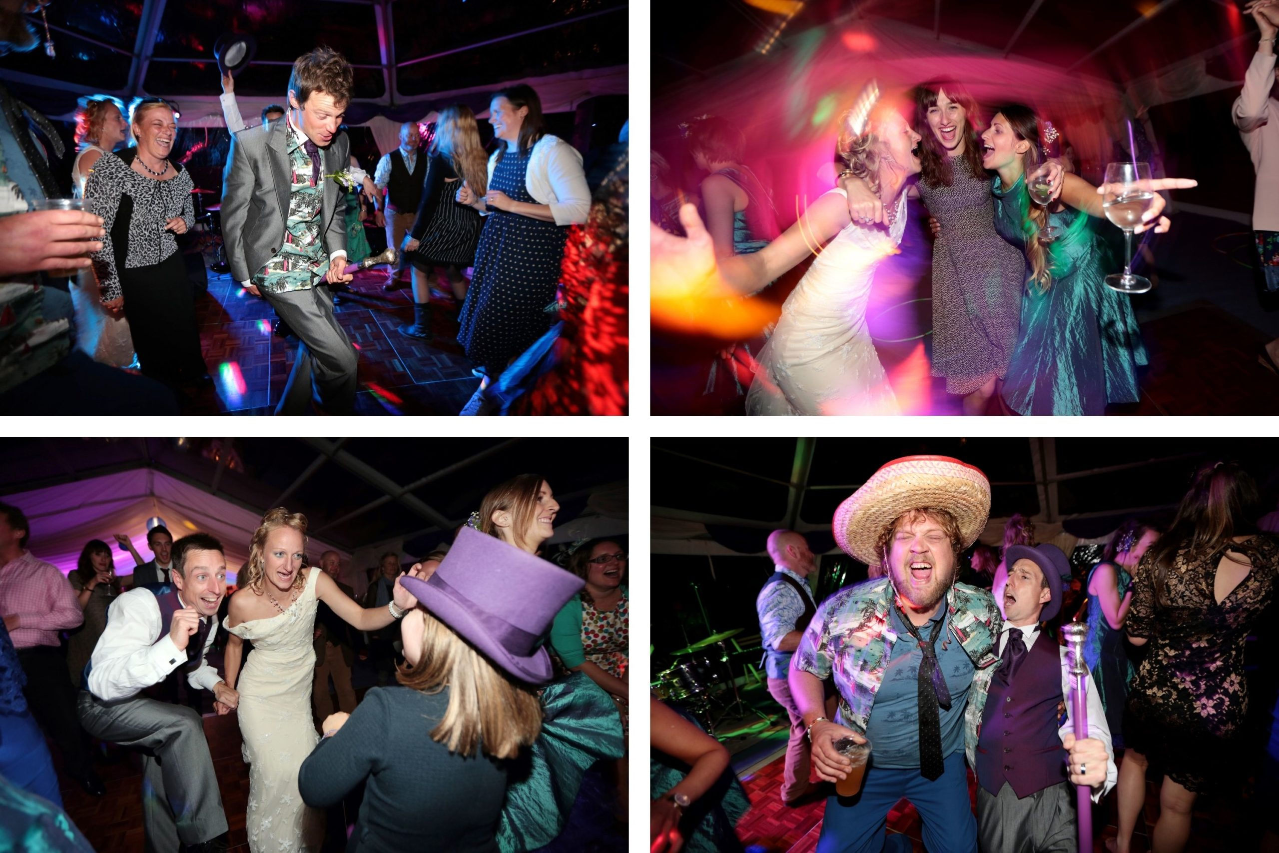 candid wedding photographer sussex dancing fun